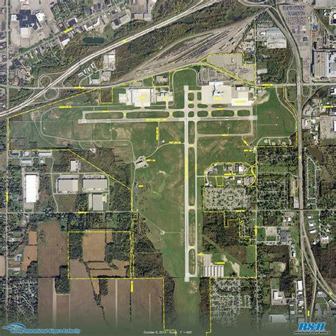 Bishop International Airport: Flint, Michigan: Aerial ...
