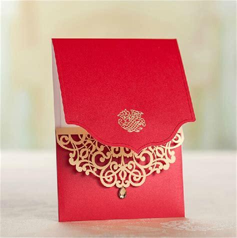 50pcs/lot latest indian wedding card design laser cut