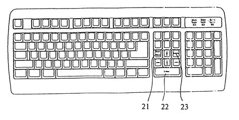 patent  keyboard  easily accessed