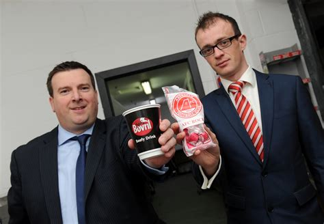 There'll be no more cold pies for Dons fans at Pittodrie ...
