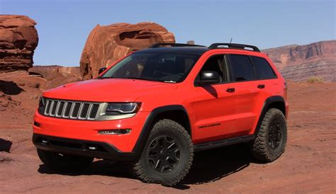 jeep grand cherokee trailhawk lifted jeep grand cherokee trailhawk ii concept revealed youtube