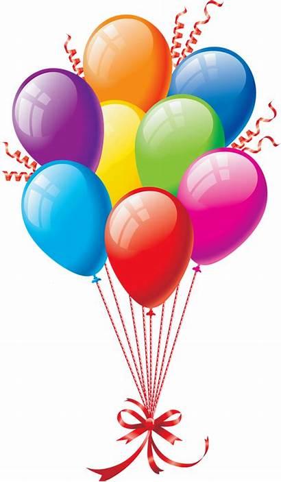 Balloons Transparent Party Background Balloon Birthday Happy