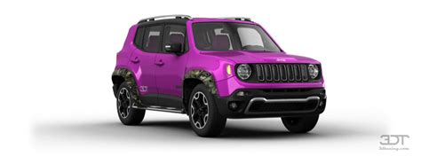 neon purple jeep 3dtuning of jeep renegade suv 2015 3dtuning com unique