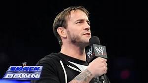 Cm Punk Defies Kane  Smackdown  Jan  24  2014