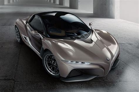 Mclaren F1 Designer by Yamaha Sports Ride Concept Has Carbon Fiber Chassis Made