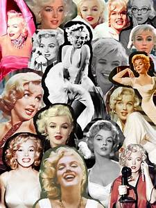 Marilyn Monroe #Collage | Marilyn Monroe | Pinterest