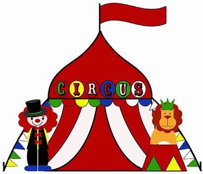 Circus Clipart Tent Colors Birthday Boho Invitation