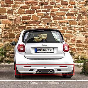 Smart 453 Freisprecheinrichtung : rear bumper with sports exhaust smart 453 original lorinser ~ Jslefanu.com Haus und Dekorationen