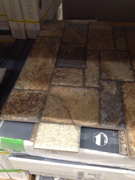 Carmen Brown Floor tile. Found @Lowes