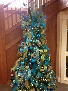 42, Attaractive, Peacock, Christmas, Tree, Decorations, Ideas