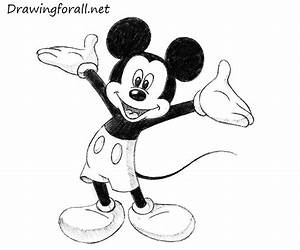 Free Mickey Mouse Drawing Download Free Clip Art Free