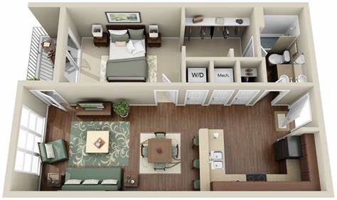 Let's find your dream home today! 13 awesome 3d house plan ideas that give a stylish new look to your home