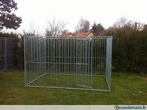 Rouleau De Grillage Pas Cher : grille de chenil galvanise pour box enclos cage chien a ~ Edinachiropracticcenter.com Idées de Décoration