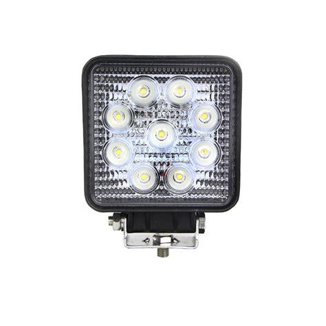 square led work light 4 inch 27 watt tuff led lights