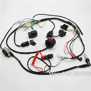 Full Engine Wiring Harness Loom Solenoid Coil Rectifier