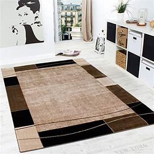 Hammer De Teppich : designer teppich wohnzimmer teppich modern bord re in braun beige preishammer ~ Indierocktalk.com Haus und Dekorationen