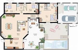 resultat de recherche d39images pour quotplan de villa With plan architecturale de maison