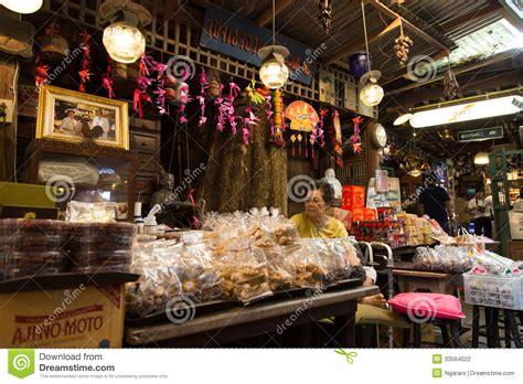 vintage style food shop interior decoration editorial