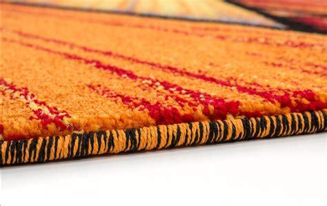 tapis design pour salon moderne multicolore south pas cher