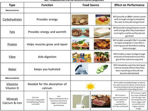 Balanced Diet Definition Pe