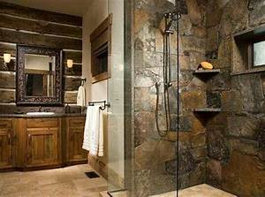 stone shower beautiful creations pinterest With kitchen cabinet trends 2018 combined with indonesian wood carving wall art