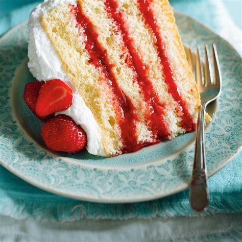 jeux de aux fraises cuisine gateaux gâteau vanille fraises rhubarbe ricardo