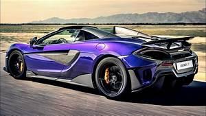 2019 Purple McLaren 600LT Spider - High-Performance ...  Purple