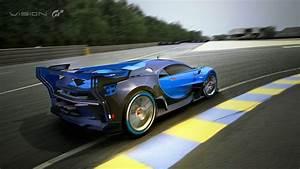 Bugatti Vision Gran Turismo Show Car Revealed at Frankfurt