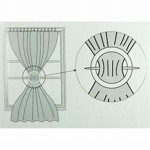 Embrasse Pour Rideaux : embrasse ronde en bois pour rideaux ~ Teatrodelosmanantiales.com Idées de Décoration