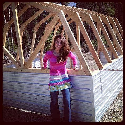 diy barn greenhouse  owner builder network
