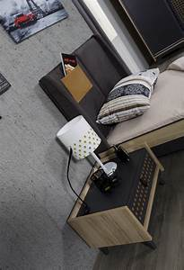 Nachttisch Mit Schublade : nachttisch dark point mit einer schublade ~ Frokenaadalensverden.com Haus und Dekorationen