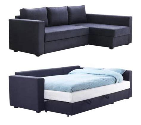 sectional sofa with sleeper bed manstad sectional sofa bed storage from ikea sofa