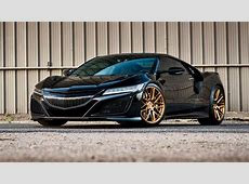 Does the Honda NSX suit gold wheels? Top Gear