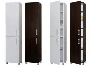 tall freestanding bathroom cabinet 300mm wide white ebay