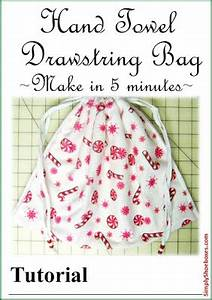 Simply Shoeboxes 3 Step Five Minute Drawstring Tote Bag