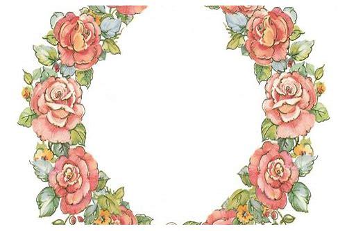 Rose Flower Frames Free Download Chocderupa
