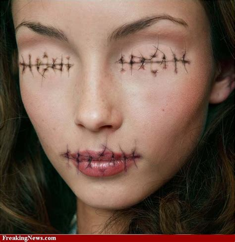 foto de 174 best images about Sewn Lips/Living Doll/Marionette on