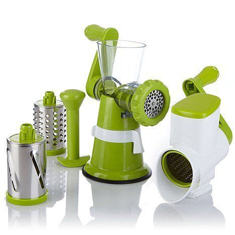 All in One Rotary Grater/Slicer,   In the Kitchen