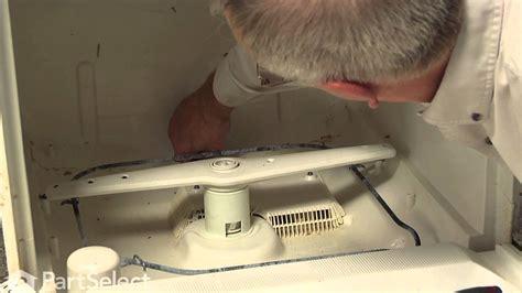 dishwashers ge dishwasher  draining