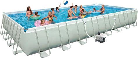 poolset mit sandfilteranlage intex pool set mit sandfilteranlage 975 488 132 cm 187 ultra frame pool komplett set rectangular