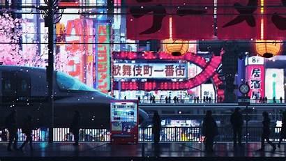 Cyberpunk 4k Streets Wallpapers Street Widescreen