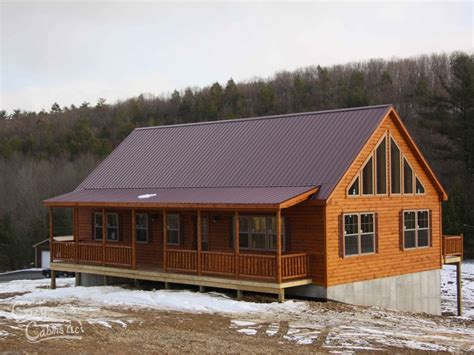 modular log cabin homes mountaineer deluxe log home cozy cabins manufactured in pa