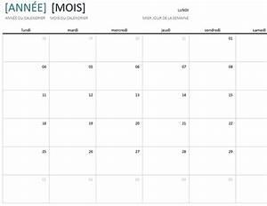 Calendrier Par Mois : calendrier annuel par mois ~ Dallasstarsshop.com Idées de Décoration