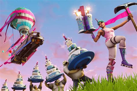 epic  celebrating fortnites  year anniversary