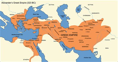 map   greek empire  bc mapporn
