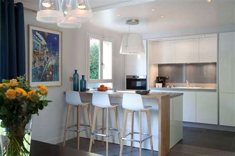 cuisine ouverte refermable cuisine ouverte sur salon quand la modernité rencontre