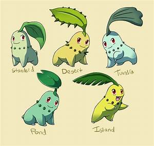 Pokemon Chikorita Evolution Chart | www.pixshark.com ...
