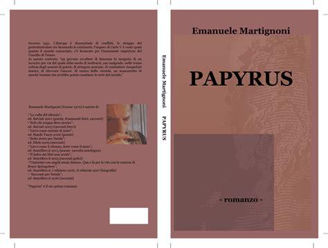 carlo conti lade papyrus romanzo storico di emanuele martignoni la