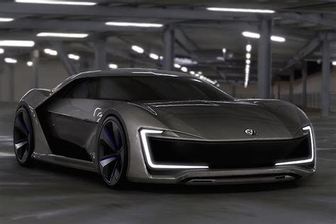 Stunning Volkswagen Sports Car Concept Shows Us The Future