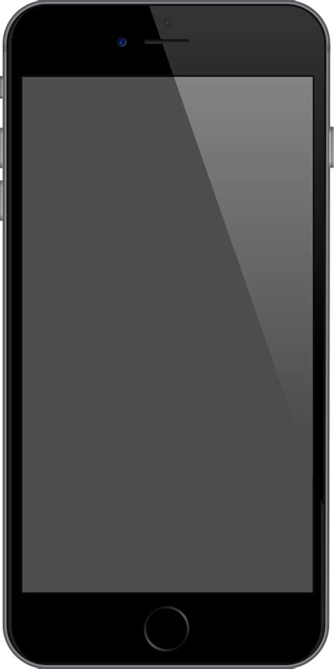 space grey iphone file iphone 6 plus space gray svg wikimedia commons